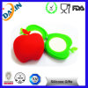 Fancy Apple Shape Silicone Mirror Bags for Gifts