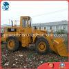 Geel-verf 40FT-container-verscheept de V.S.-Uitgevoerde 200HP/Diesel-motor Backhoe van de Rupsband 966D Lader van het Wiel