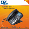 DBL 4ラインVoIP SIP IPの電話EP-8201