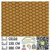 Tissu chaud C0110 de lacet de mariage de polyester de bonne qualité de vente