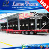 頑丈な40ft Gooseneck Low Flatbed Container Semi Trailer