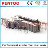 Ligne de jet de poudre pour la grande capacité d'enduit de produits