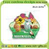 풀어주십시오 주문을 받아서 만들어진 승진 선물 3D PVC 냉장고 자석 오스트레일리아인 (RC-AN)를