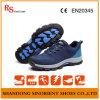 Sapatas de segurança respiráveis do esporte do forro com tela tecida RS810 superior