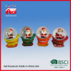 Polyresin Christmas Snow Globe Decoration Water Globe con il LED Lights il Babbo Natale