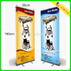 Light dell'interno Stand Banner Roll su Advertizing Display