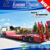De Semi Aanhangwagen van Lowboy van de As van Juyuan 2-4 voor Zware Machines