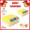 (48 huevos del pollo) incubadora automática del huevo del pollo/del pato/de codornices