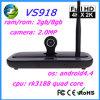 Cadre Q7s de Xbmc TV de l'androïde 4.2 du noyau CS918sii Rk3188 de la quarte Rk3188