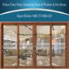 Top10 de Schuifdeuren van het Aluminium van het Merk met Dubbele Verglazing voor Decoratie