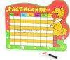 Paper de encargo Memo Board Hora Plate para Kids