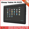 A13 Android 4.0, PC таблетки камеры фронта экрана Capacitivetouch 7 дюймов (A13)