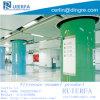 ガラス質のエナメルのパネルの工場中国のエナメルを塗られた鋼鉄クラッディングパネル、地下鉄の駅のために、試供品。 Install. Ref018に容易