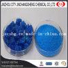 Sulfato de cobre del polvo cristalino azul