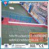 Плитка спортов резиновый, рециркулированная резиновый плитка, плитка резины спортивной площадки