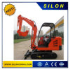 Excavatrice en acier de chenille de voie de Silon 2500kg avec le seau 0.07m3