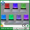 새로운 7 색깔 변경 소형 탁상용 디지털 LCD 온도계 달력 LED 자명종