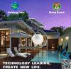 Luz solar ahorro de energía patentada del diseño con el sensor de microonda