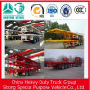 Tri-Axle 40ft Flatbed Trailer mit Container Locks