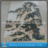 Mattonelle di pietra Mixed naturali della parete del mosaico del reticolo di arte del travertino & del marmo
