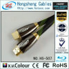 Micro HDMI cabo da alta qualidade com Ethernet 1.4, 1080P (HS-507AC)