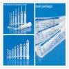 세륨, ISO, GMP, SGS, TUV를 가진 PE Package에 있는 Needle의 유무에 관계없이 Medical 처분할 수 있는 3 부품 Luer Lock Syringe