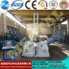 Máquina de rolamento aprovada Mclw12xnc-10*6000 da placa do CNC do Ce relativo à promoção de Rolls da placa