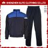 Tuta sportiva uniforme di pallacanestro di meraviglia del nero e dell'azzurro per gli uomini (ELTTI-3)