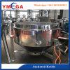 Acciaio inossidabile della pentola a pressione del vapore di industria per la minestra dell'osso della carne del fagiolo
