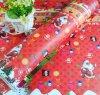 주문을 받아서 만들어진 싸게 인쇄된 크리스마스 선물 포장지