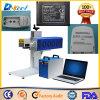 Портативный случай заряжателя пластмассы/металла маркировки отметки лазера волокна CNC