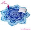زرقاء [روس] خاصّ بالأزهار بوليستر [بشور] يغطّي شاطئ فوق [بش توول]