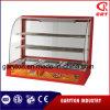 Showcase curvado elétrico comercial do indicador do aquecedor de alimento (GRT-3P) com bandejas