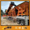 Planta móvel do triturador de pedra de Jbs