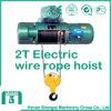 Alzamiento de cuerda eléctrico de alambre de 2 toneladas con precio competitivo