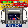 Carro DVD do Android 5.1 de Witson para Hyundai Santa Fe novo (2006-2011) (W2-A7028) com sustentação do Internet DVR da ROM WiFi 3G do chipset 1080P 8g