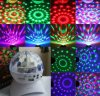 Altoparlante di Bluetooth con illuminazione magica di cristallo della discoteca della sfera di RGB LED