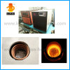 Máquina de fusión de fusión de la calefacción de inducción del oro tamaño pequeño con el termómetro del uno mismo