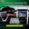 Sync G3 시스템 Lvds RGB 신호 입력 던지기 스크린을%s 가진 포드 축제 초점 융해 토러스 Kuga 가장자리 Ecosport etc.를 위한 뒷 전망 & 360 Panorama 공용영역