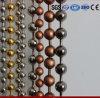 Tende in rilievo della catena della sfera di metallo di colori (1.0mm-12mm)