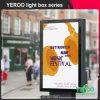 Publicidad del panel al aire libre del rectángulo ligero de la ciudad del movimiento en sentido vertical del LED