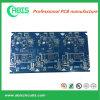PWB da placa de circuito Fr4 com máscara azul da solda (serviço rápido dos dias de entrega 3-5)