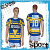 Großhandelssublimation-kundenspezifische preiswerte RugbyJerseys Entwurf, Rugby-Hemd, Rugby-Liga Jersey