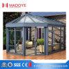Sunroom de cristal aislador del marco de aluminio con la puerta del marco