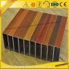 أفضل بيع الحبوب خشبي أنبوب شقة أنبوب الألومنيوم مع أجزاء الألومنيوم