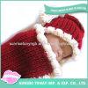 Шлем Crocheted шерстей способа оптовой руки чувствуемый