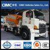Camion Euro3 de mélangeur concret de Hino 8X4 12cbm 350HP