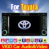 6.2 '' HD dans la navigation de la voiture DVD GPS pour Toyota Prado/croiseur de terre/Hilux/RAV4/vieille corolle/vieux Camry