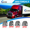 트럭 (11R22.5, 12R22.5)를 위한 Aufine 상표 광선 타이어