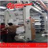 4 de Machine van de Druk van Flexo van de Hoge snelheid van de kleur voor Plastiek met Ceramische Anilox